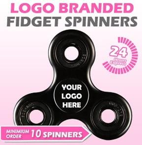 Logo Branded Fidget Spinners
