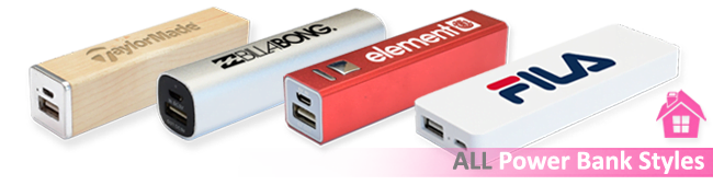 All Logo Printed Power Banks