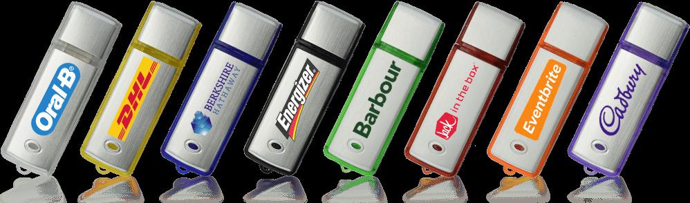 Classic Aluminium Custom Branded USB Memory Stick