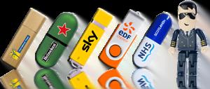 Logo Printed USB Styles