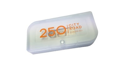 Clear Plastic Presentation Box