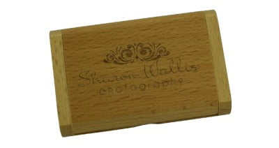 Flip Wooden Box