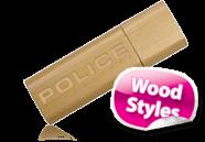 Wooden Eco Friendly USB Sticks