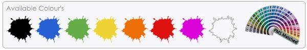 Dixie Style USB Flash Drive Colours