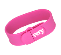 Slap On Wristband USB Style