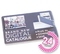 Logo Branded Slim Card USB