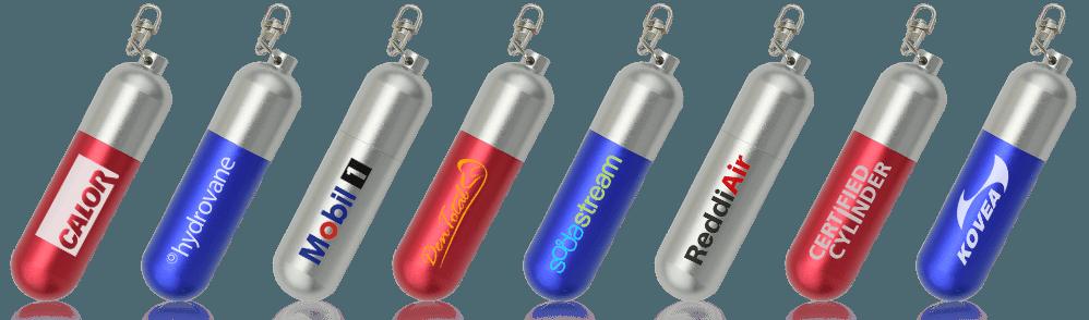 Cylinder USB Drive