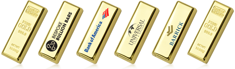 Gold Bullion USB Drive