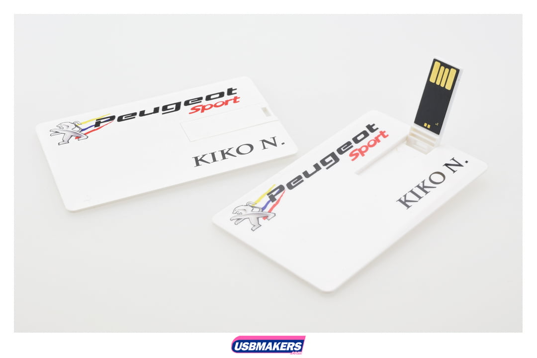 Slim Credit Card Style Personalised Usb Memory Sticks