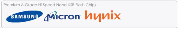 Titan Style USB Memory A Grade Chips