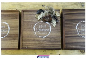 4-Dark-Large-Wooden-Photo-Prints-USB-Gift-Box