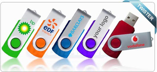 Twister Promotional USB Flash Drive