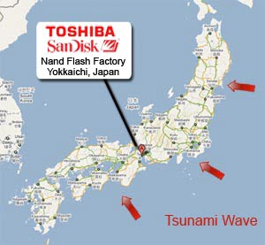 Toshiba and SanDisk Factory
