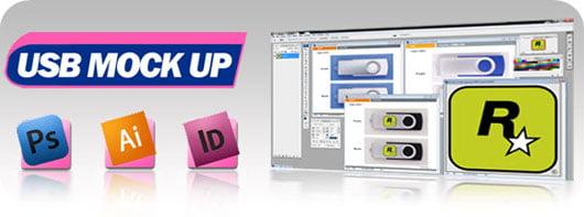 Promotional USB Mock Up