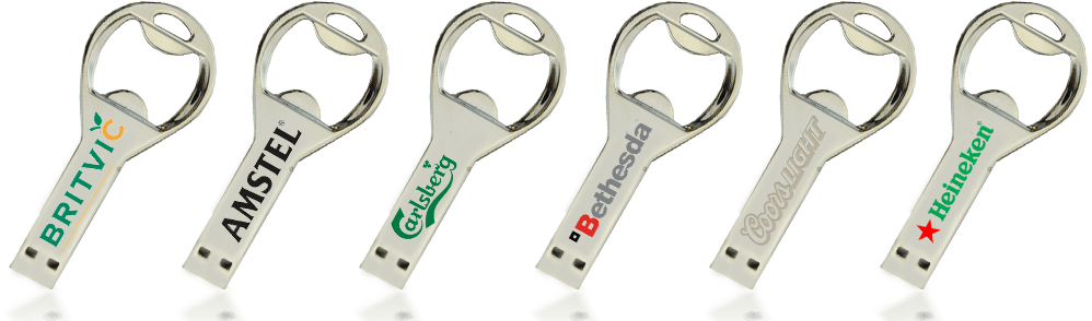 Retro Bottle Opener USB Drive