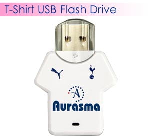 T-Shirt Style Custom USB Flash Drives