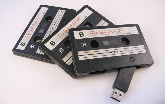 audio cassette custom branded usb memory stick usb makers. Black Bedroom Furniture Sets. Home Design Ideas