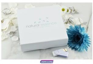 White Magnetic Photo Print USB Gift Box USB Makers 1