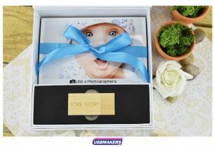 White Magnetic Photo Print USB Gift Box USB Makers 2