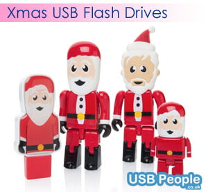 Logo USB For Christmas Promotions