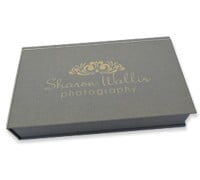 Elegant USB / CD / DVD Photo Gift Box