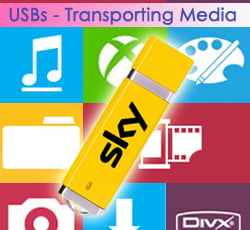 Personalised USB Keys - Transporting Media