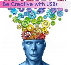 Printed USB Flash Drives